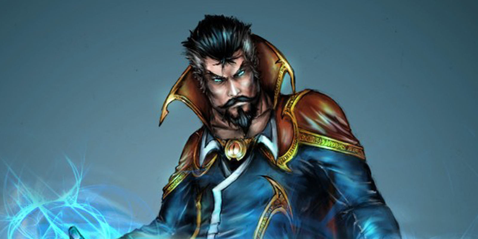 how to grow dr strange beard