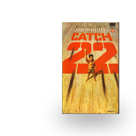 yossarians opposition to war in catch 22 a novel by joseph heller The crazy dark satire of catch-22 was something new in war  of yossarians with  complex and their opposition to the vietnam war joseph heller.