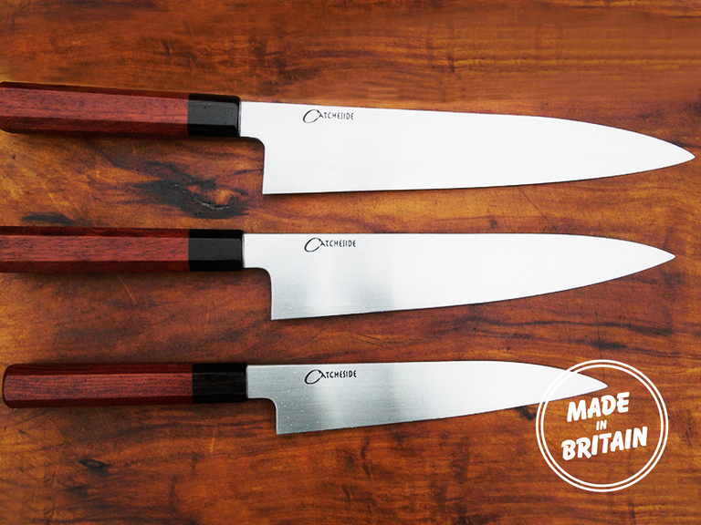 the custom kitchen knife catcheside cutlery