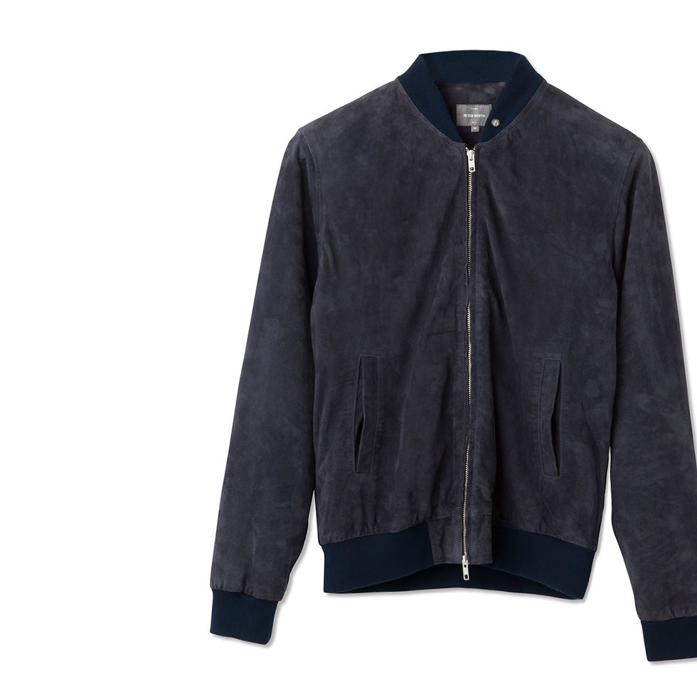The Coolest Suede Bombers For Autumn
