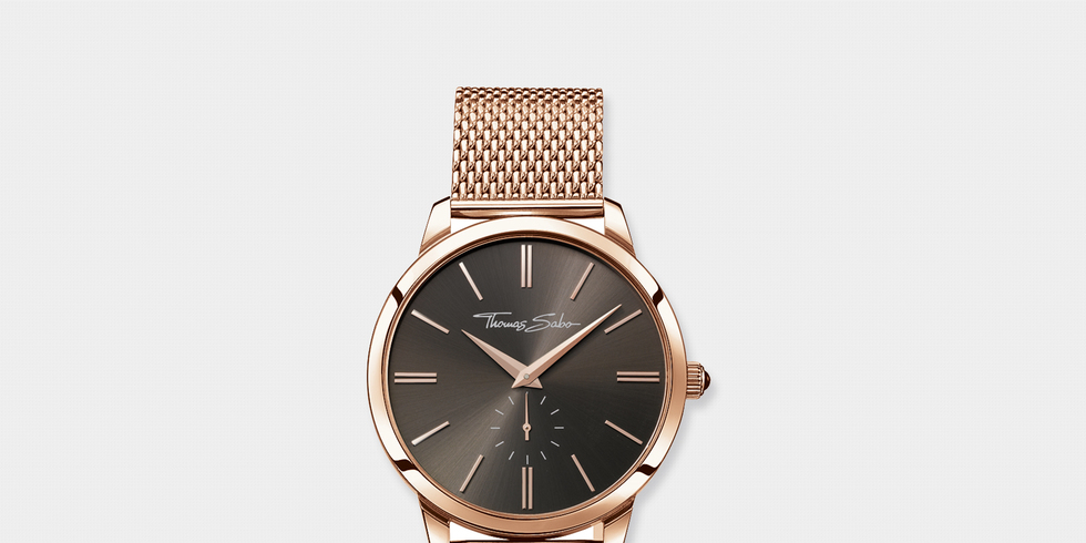 Thomas sabo white and rose gold watch