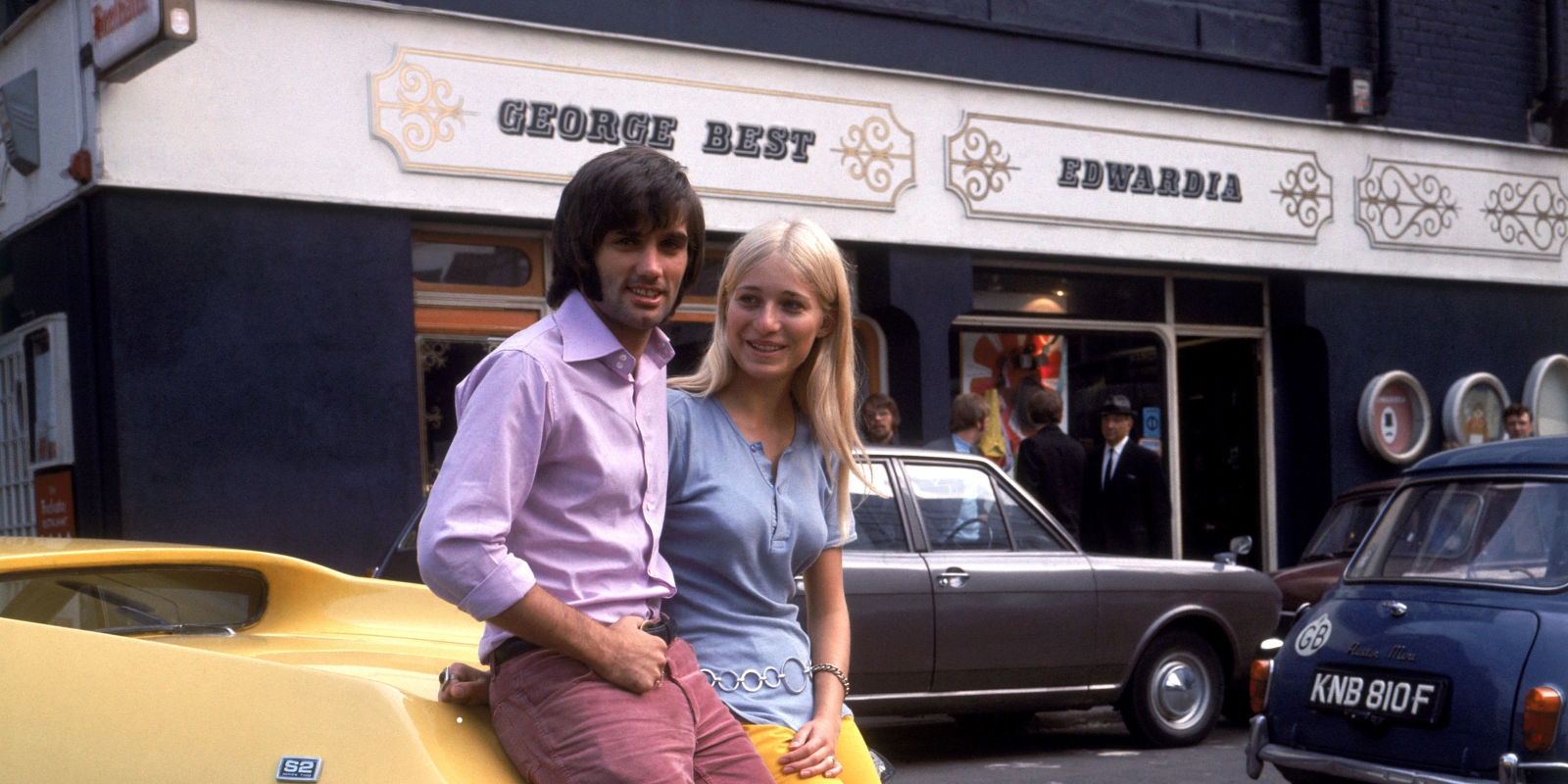 How George Best Became The World s First Playboy Footballer
