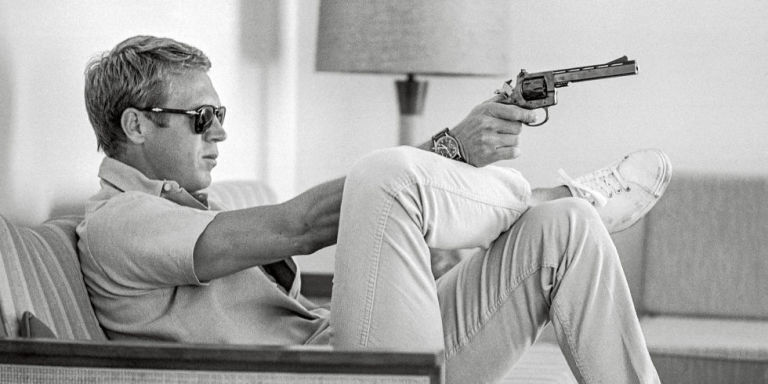 Steve McQueen, 1963/Getty.