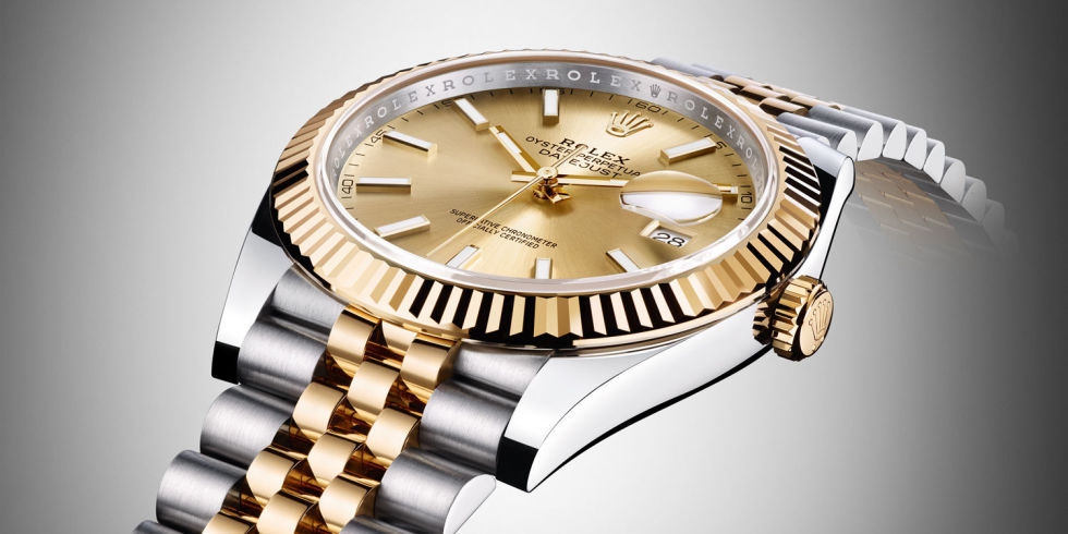 why it s time to embrace the gold watch rolex oyster perpetual datejust 41mm rolesor