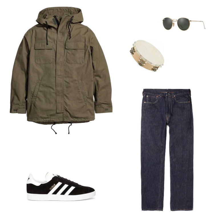 Supersonic outfit grid